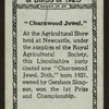 Charnwood Jewel 26th.