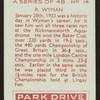 R. Wyman.