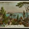 The gardens at Candie, Guernsey, 1832.