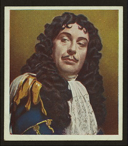 Sir Cedric Hardwicke, as Charles II.