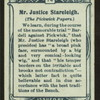 Mr. Justice Stareleigh, Pickwick Papers.