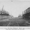Rosewood Avenue, 1800 block, Richmond, muddy street, no  sidewalks, cheap frame Negro houses, no front yards.