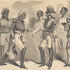 The Emperor Soulouque, Faustin I., of Haiti, and his Cabinet Ministers.