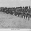 In line for review; Members of the 15th Infantry being reviewed; A sturdy and determined line of fighting men.