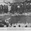 Baptizing Negro soldiers at Camp Gordon.