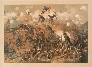 Siege of Vicksburg.