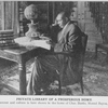 Private library of a prosperous home; Refinement and culture is here shown in the home of Chas. Banks, Mound Bayou, Miss.