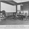 Refining and Christian influence; The reading room in the Y.M.C.A. Washington, D.C.; the young men are studious and deeply interested in their educational and Christian work.