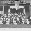 The rising generation; A group of intellectual students comprising the senior class, 1913, Tuskegee Institute.
