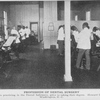 Profession of dental surgery; Students practicing in the Dental Infirmary, prior to taking their degree, Howard University, Washington, D.C.