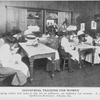 Industrial training for women; Developing talent and taste in the art of millinery, an industry for women; a class at Spellmans Seminary, Atlanta, Ga.