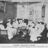 Nurses' Training School; A class of nurses at study; Frederick Douglass Hospital, Philadelphia, Pa.