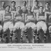 Fine specimen - physical development; Hampton Institute champions of 1912, showing a strong team of the colored boys and their Indian fellow students.