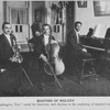 """Masters of melody; """"The Washington Trio"""", noted for harmony and rhythm in the rendering of musical composition."""