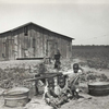 Children of sharecropper, near West Memphis, Arkansas, 1935.