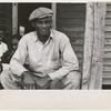 Sharecropper on Sunday, Little Rock, Ark., October 1935.
