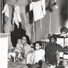 Negro family living in crowded quarters, Chicago, Illinois, April 1941.