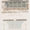 Design for an Orangerie. [before and after].