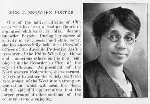 Mrs. J. Snowden Porter.