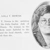 Mrs. Lola Y. Downs.