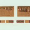 Mozaichnye izobrazheniia: Sv. Epifaniia, Sv. Klimenta, Papy Rimskago, Sv. Grigoriia Bogoslova, Sv. Nikolaia, Sv arkhidiakona Stefana, Sv. Arkhidiakona Lavrentiia, Sv. Vasiliia, Sv. Ioanna Zlatoustago, Sv. Grigoriia Nisskago, Sv. Grigoriia Chudotvortsa, ornamenty iz mozaiki