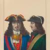 SHLIAPY Ofitserov i nizhnikh chinov s 1700 po 1732 god