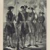 KAPTENARMUS, KAPRAL, SERZHANT I FURIER L.Gv. Preobrazhenskogo polka s 1700 po 1720 god