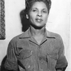 Belle Calhoun, employee of the Lincoln Wire Company chosen Miss Negro War Worker...
