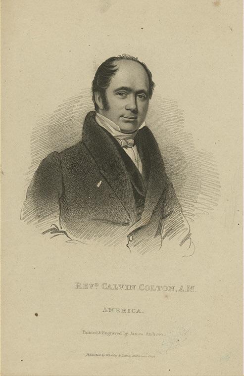 Revd. Calvin Colton, A.M.