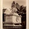Tombstone of angel]
