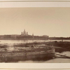View of Monastery (Lavra) from the far bank of the Neva]