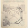 Plan i razriez podkupol'nykh arok i parusov glavnago kupola khrama