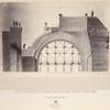 Fasad i razriez arok, pilonov, parusov i kol'tsa glavnago kupola khrama