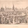 Kreml' (po risunku Oleariia 1636 g.)