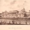 Vid Kremlia iz-za Moskvy rieki.  (XVIII ST.)