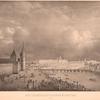 Vid s Kremlevskoi naberezhnoi Moskvy Rieki.  (1825 g.)