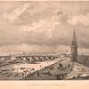 Vid Kamennago mosta na Moskvie riekie. (1825 g.)