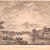 Vid nizhniago Priesnenskago pruda i Gorbatago mosta. (1825 g.)