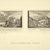 Vid Kremlevskago starago dvortsa s Krasnym kryl'tsom i Zolotoiu Reshetkoiu; Krasnoe kryl'tso i Granovitaia palata. Vidy poloviny XVIII stolietiia.