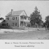 Home of Negro landlord, Thomasville, Ga.; Tenant houses adjoining.