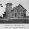 Ingram Chapel, J.K. Brick School, N.C.; Largest A.M.A. school under Negro control.