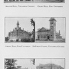 Swayne Hall, Talladega College; Chase Hall, Fisk University; Jubilee Hall, Fisk University; DeForest Chapel, Talladega College; Strieby Hall and Beard Hall, Tougaloo University.
