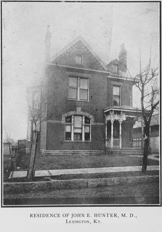 Residence of John E. Hunter, M.D.; Lexington, Ky.
