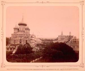 Vid Uspenskago sobora, Simonovoi obiteli, (s iuzhnoi storony).