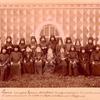 Vidy tserkvei i zdanii Moskovskago stavropigial'nago pervoklassnago Simonova monastyria. 28-go marta 1893 goda. [back of item]