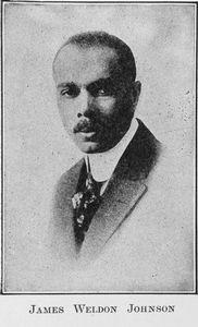 James Weldon Johnson.