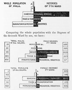 The occupations of Negroes.