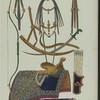 Kokandskoe sedlo i konskaia sbruia (khromolitografiia)