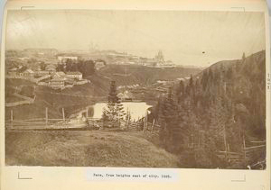 Perm, from heights east of city, 1885.