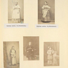 Russian nurses. St. Petersburg [top two photos]; Types of population(Turkic people of European Russia) [bottom three photos].